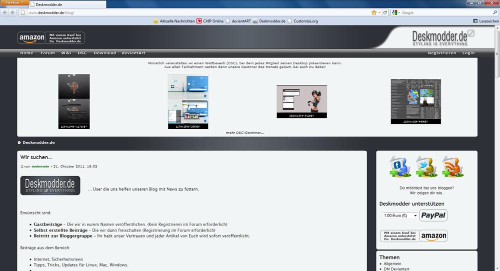 Gastbeitrag: Firefox im Safari oder minimal Style