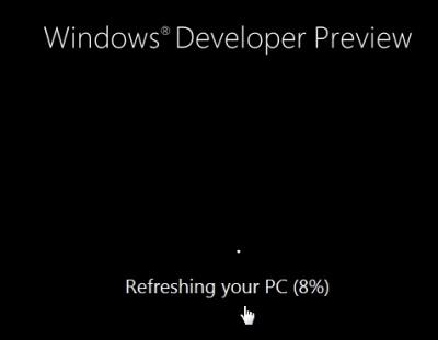 Windows 8 zurücksetzen, reparieren oder eine Recovery erstellen