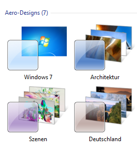 deskthemepack von Windows 8 unter Windows 7 verwenden