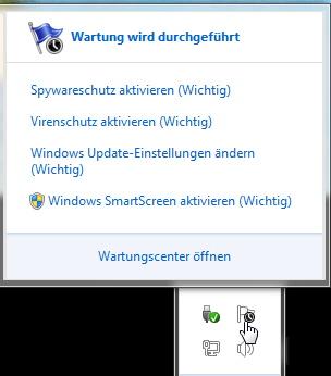 Automatische Wartung einstellen Windows 8