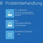 Windows 8 ohne DVD reparieren