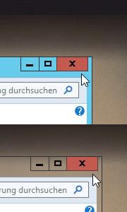 Windows 8 Basis Theme mit Transparenz einstellen