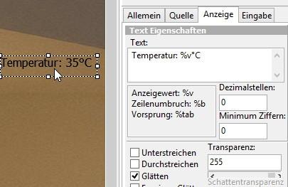 HWinfo Werte auf dem Desktop mit Samurize anzeigen