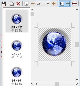 Eigene Icons aus bmp, jpg oder png erstellen und in ico umwandeln