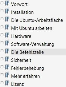 Ubuntu Handbuch zum herunterladen