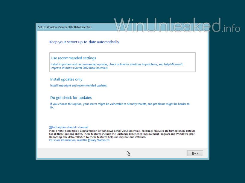 Windows Server 2012 Beta Essentials kann getestet werden