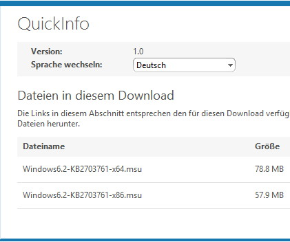 Media Feature Pack für Windows 8 nachinstallieren