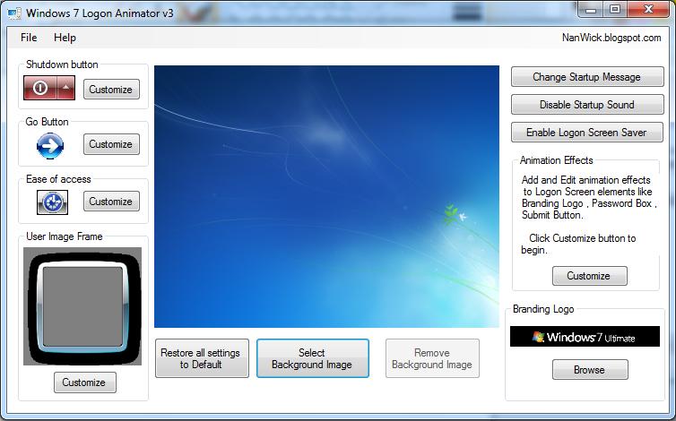 Windows 7 Logon Animator – Login und vieles mehr ändern