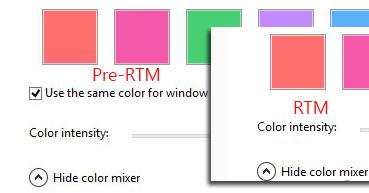 Verschiedene Farben für die Taskleiste und Rahmen einstellen – Windows 8