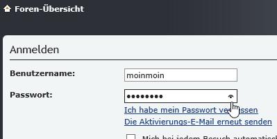 Passwortvorschau im Internet Explorer deaktivieren – aktivieren