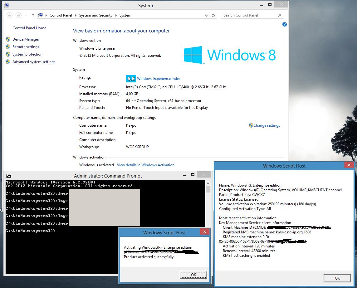 Windows 8 geknackt Aktivierung konnte umgangen werden
