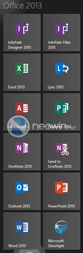 Neue Icons für Office 2013