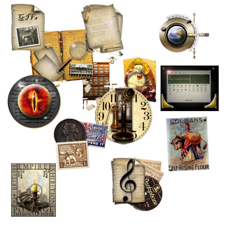 Steampunk Icons – Aussergewöhnliche Icons für Liebhaber