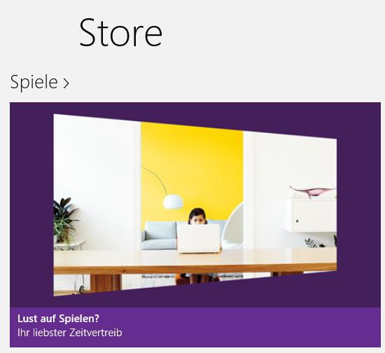 Apps im Windows Store suchen Windows 8.1 und 8