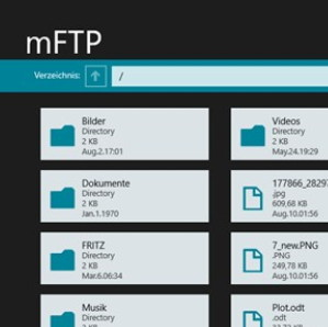 mFTP – Ein FTP-Client als App für Windows 8