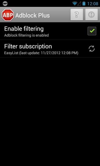 AdBlock Plus für Android verfügbar