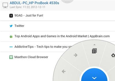 Android: Kurz vorgestellt – Maxthon Cloud Browser