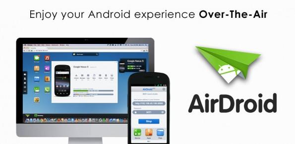 Android: Mit AirDroid Daten mit dem PC austauschen