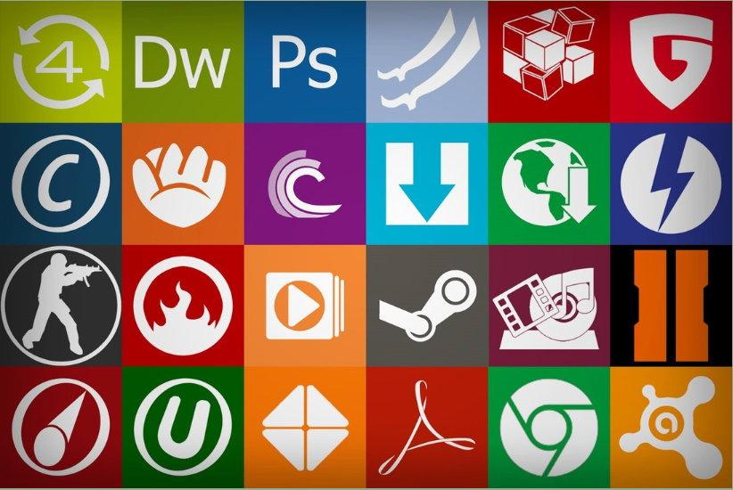 OblyTile über 900 Icons für das Windows 8 Startmenü