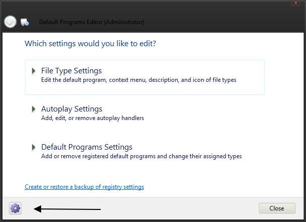 Default Programs Editor – Kontextmenüeinträge, Icons, Beschreibungen ändern und noch viel mehr
