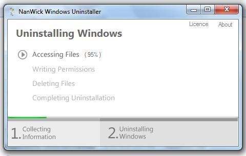 NanWick Windows Uninstaller – Eine andere Windows Version aus dem Bootmenü entfernen