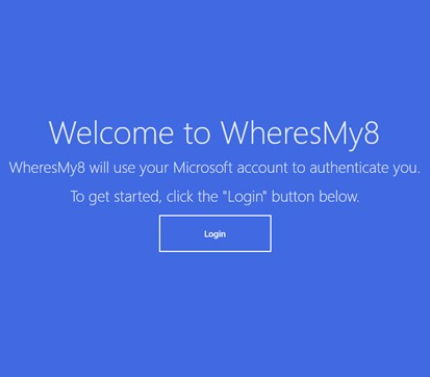 WheresMy8 – Verloren gegangenes Laptop oder Tablet aufspüren