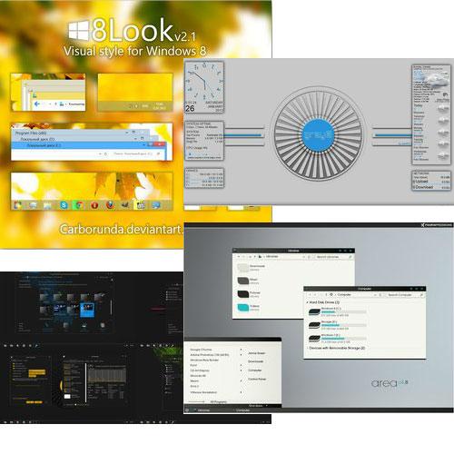 Viele neue Theme für Windows 8 in unserer Auswahl