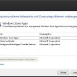 Probleme mit Windows 8 Apps beheben