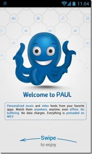 Android: Paul – Alle Videos unter einer Haube