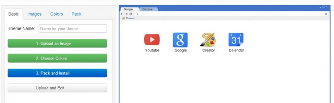 Chrome Theme Erstellen
