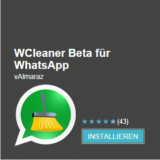 WCleaner: WhatsApp mal so richtig entrümpeln