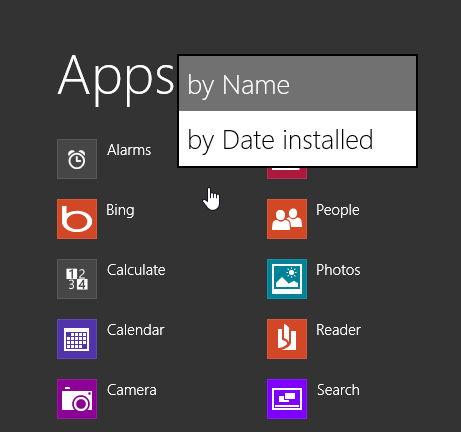 Windows Blue selbst einmal angeschaut: Teil 2