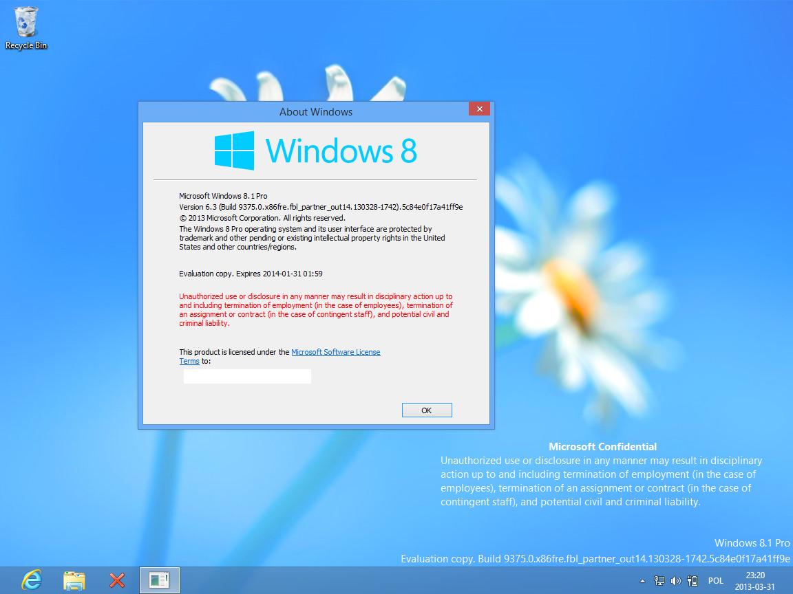 Bekommt Windows Blue nun doch den Namen Windows 8.1 ?