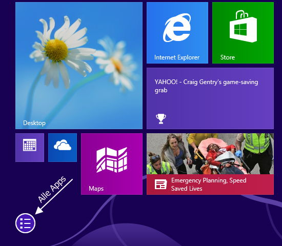 Windows 8.1 Build 9369 einmal genauer angeschaut