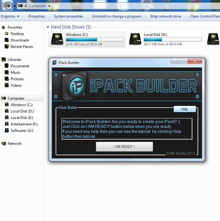 iPack Builder – Icons in eine Setup.exe packen Windows 7