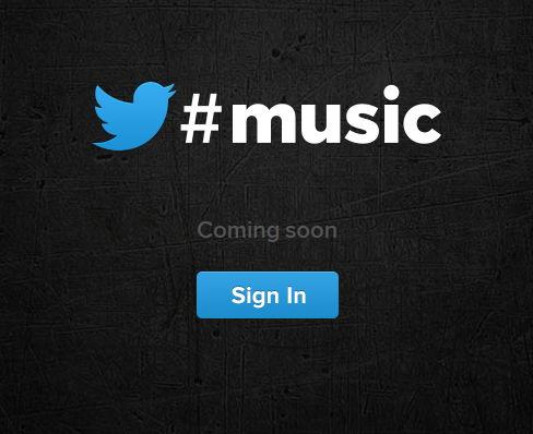Heute soll nun endlich Twitter #music starten