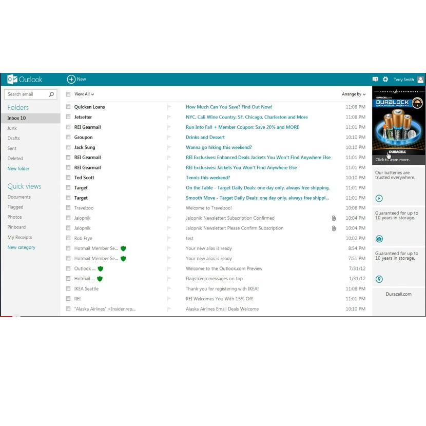 Microsoft integriert Werbung in Outlook.com