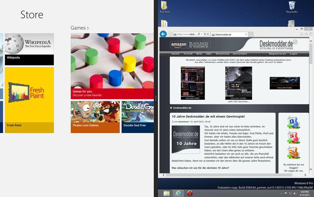 Windows Store in der Build 9364 aktivieren