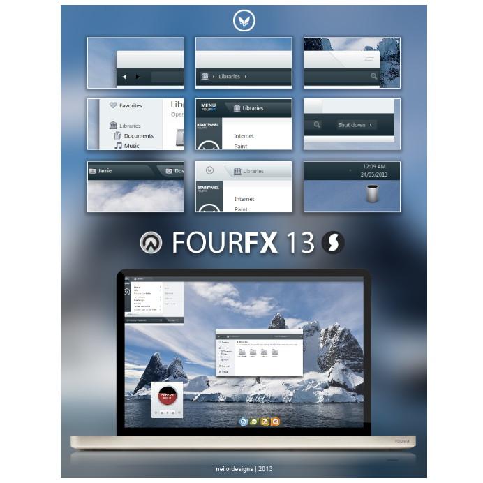 FOURFX 13 Eine Suite für viele Anwendungen
