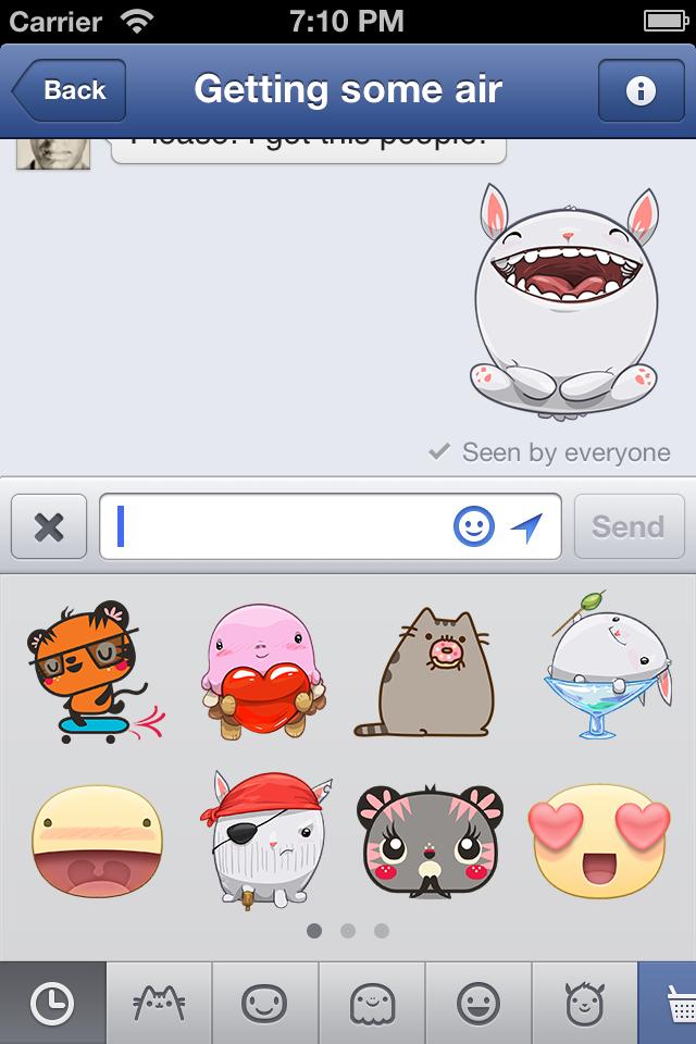 Facebook Messenger für iOS: Update bringt eine alte Funktion zurück