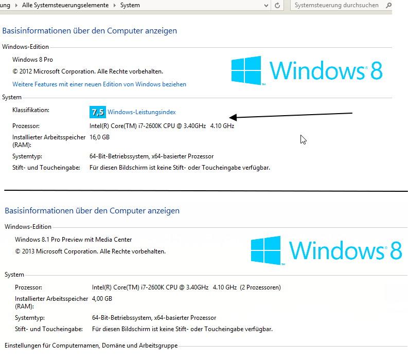 Endlich hat Microsoft den Leistungsindex abgeschafft
