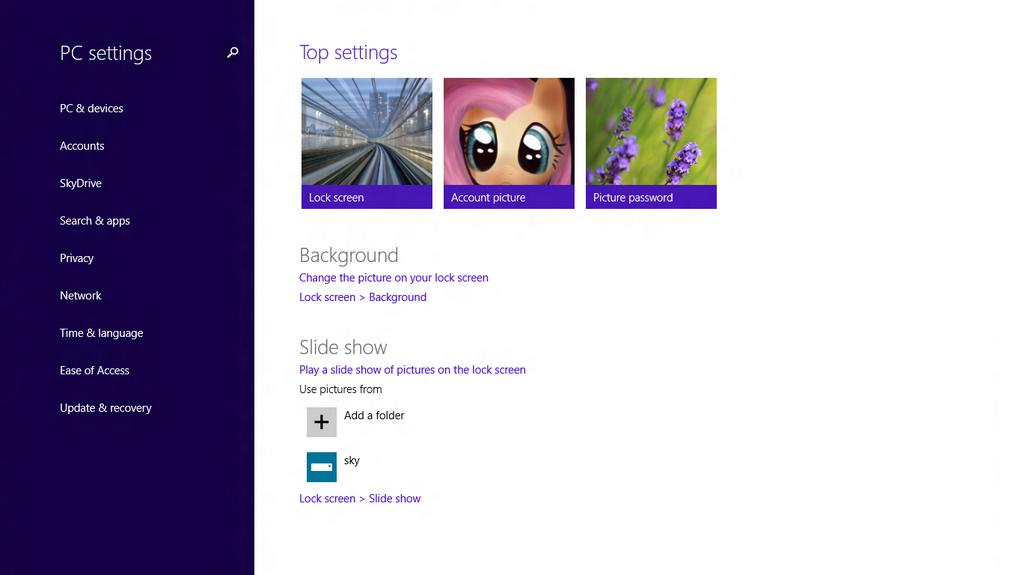 Windows 8.1 Preview: Weitere Bilder und neue Einstellungen
