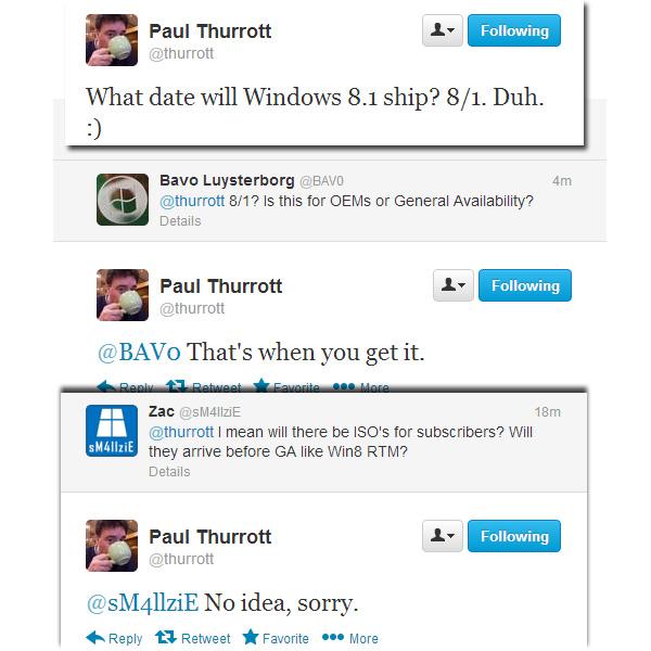 Gerücht: Finale Windows 8.1 im August