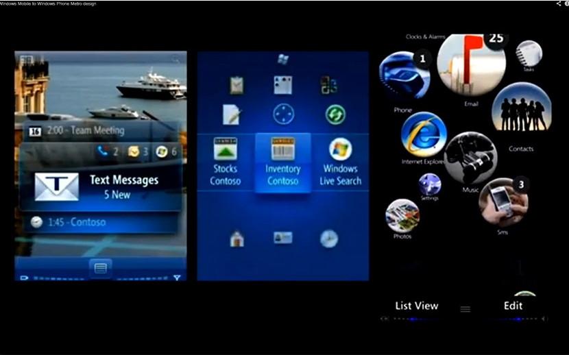 Ein Blick auf die Entstehung vom Windows Phone [Update]