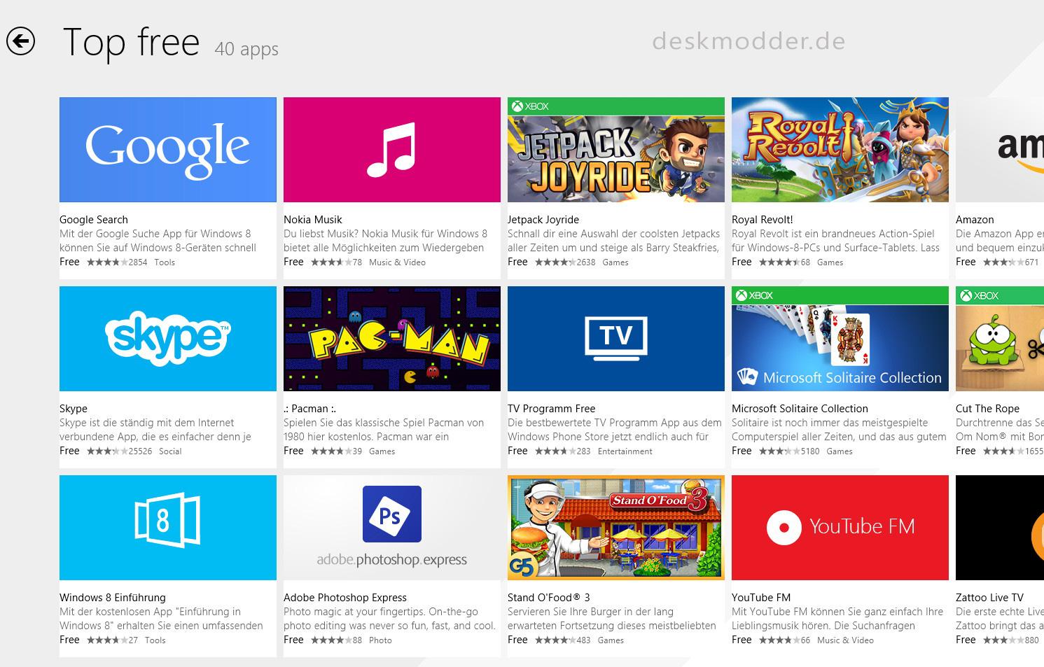 N-TV, XING und Facebook mit neuen Windows-Apps