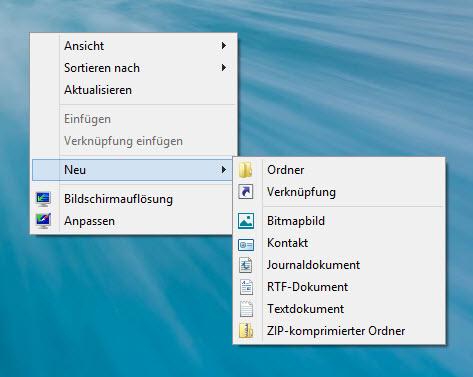 Herunterfahren, Abmelden und Co. als Verknüpfungen auf dem Metro UI StartScreen von Windows 8.1 ablegen