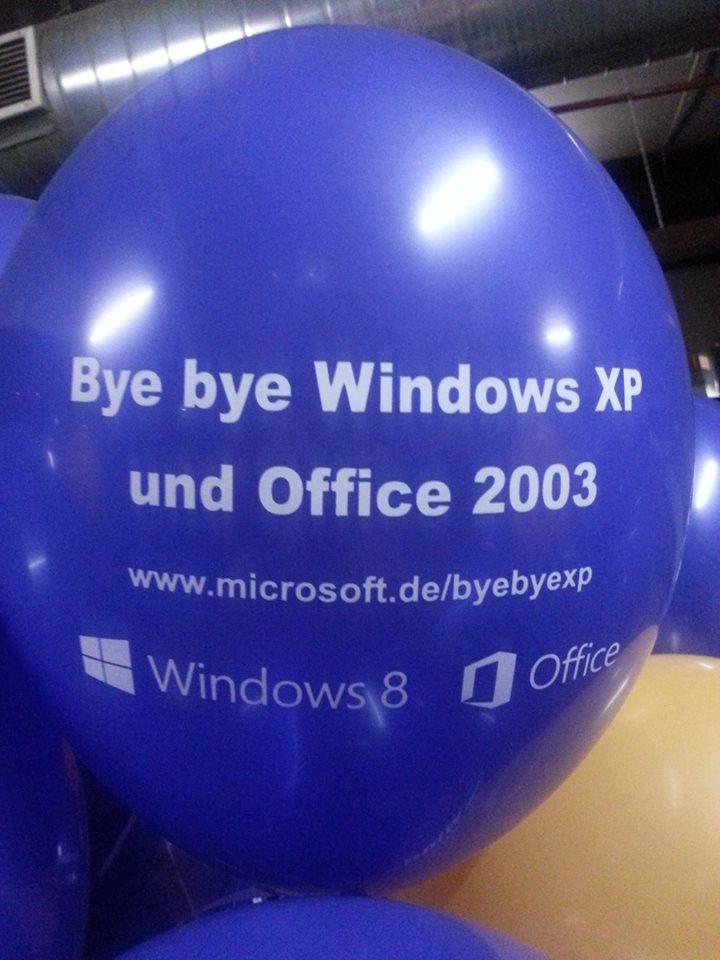 """""""Bye Bye Windows XP"""" – Gewinnaktion bei Microsoft Deutschland"""