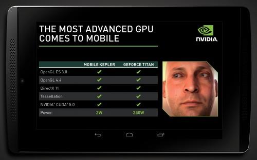 Erste Grafikdemos zu Nvidias Tegra 5 Chip für Tablets & Smartphones veröffentlicht