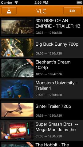 VLC Player nun auch wieder für iOS verfügbar