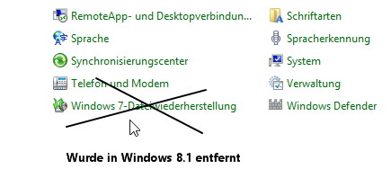 Backup Image Funktion in Windows 8.1 ist doch noch enthalten